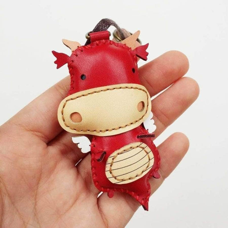 DRAGON LEATHER CHARM