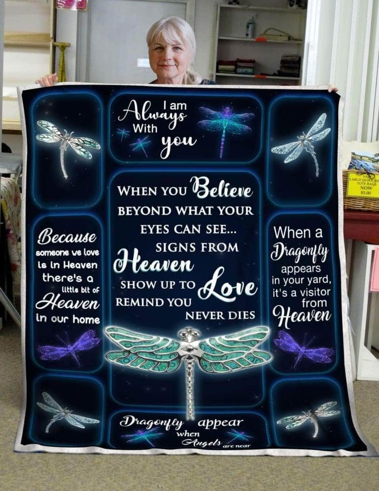 Dragonfly Appear Blanket
