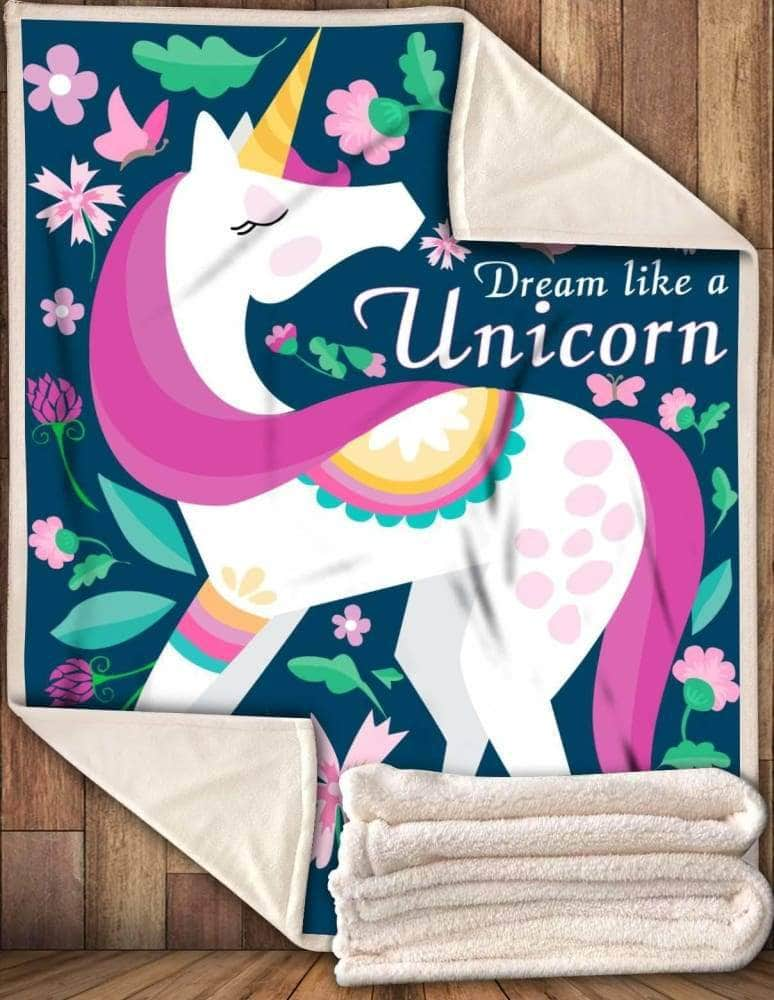 Dream Like A Unicorn - Blanket