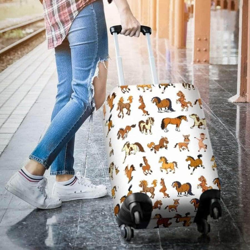 Funny Horse Luggage Covers
