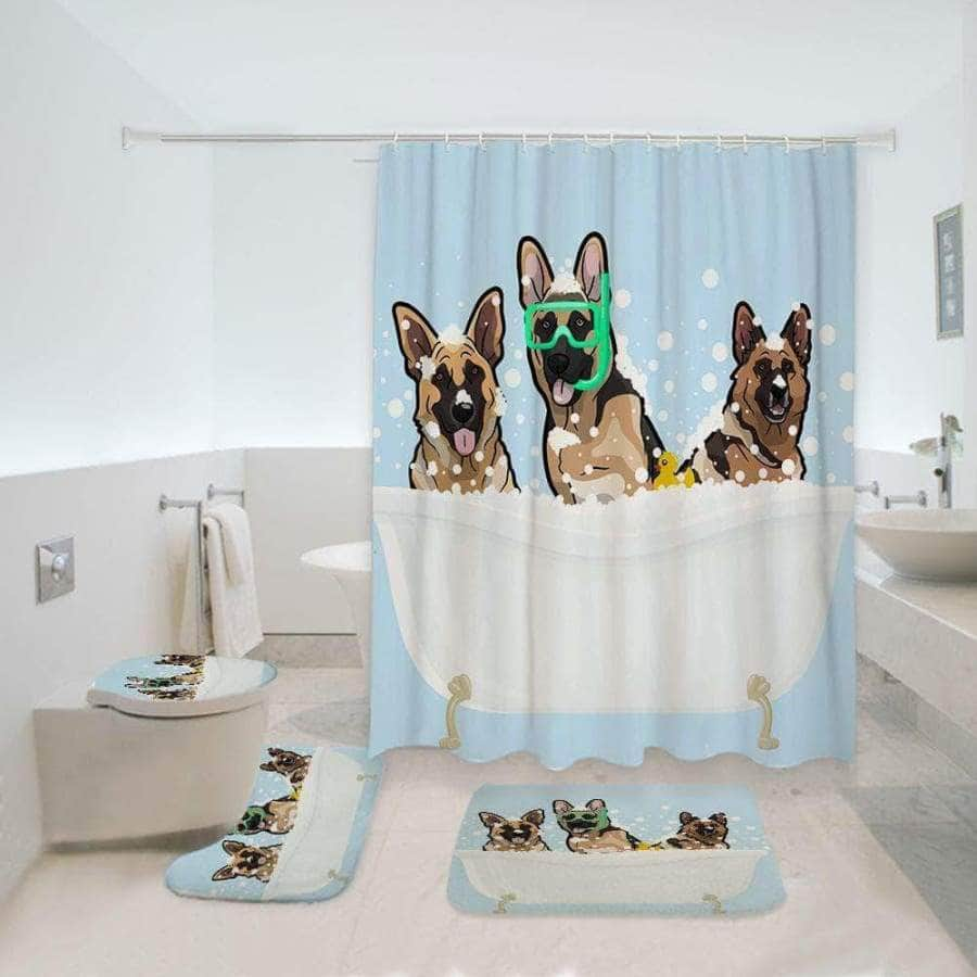 German Shepherd - Bathroom Set