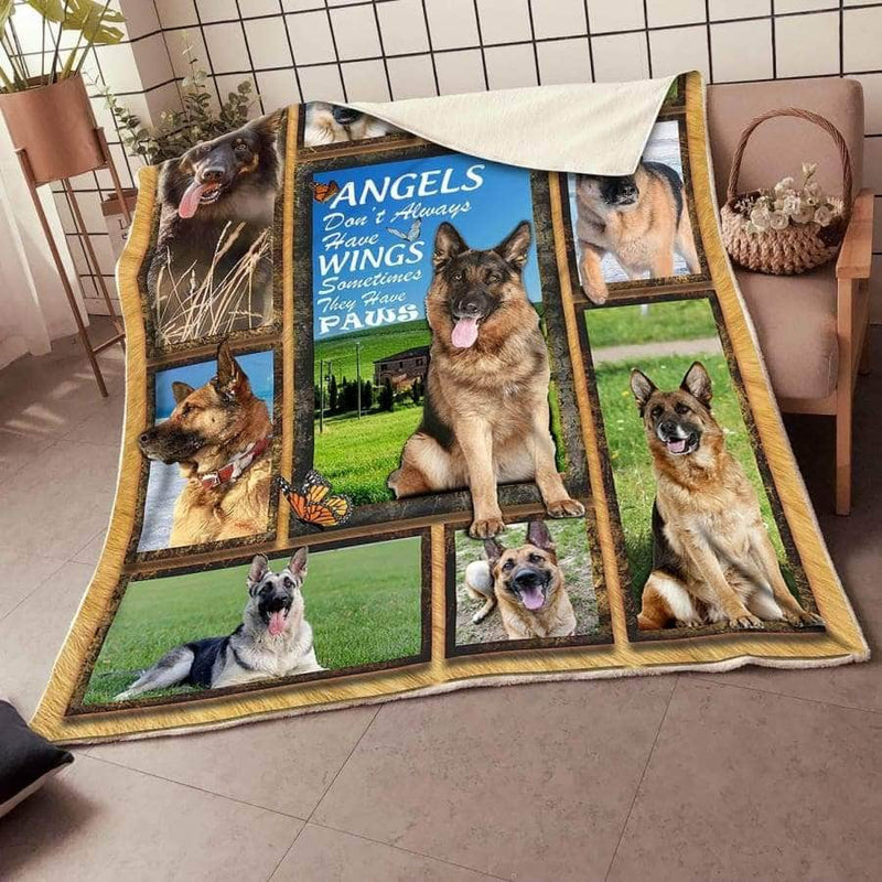 German SHepherd Premium Blanket