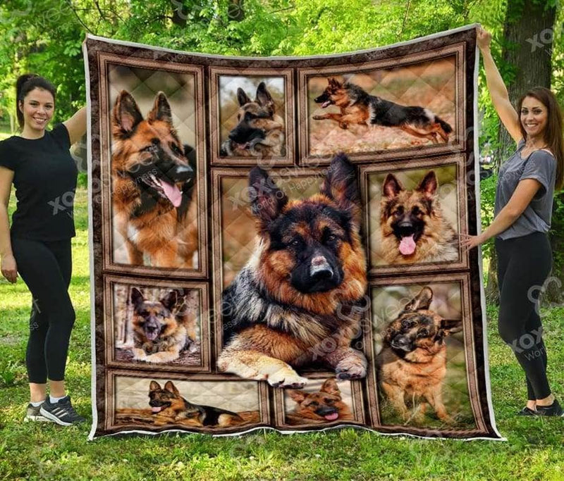 German Shepherd Quilt 2
