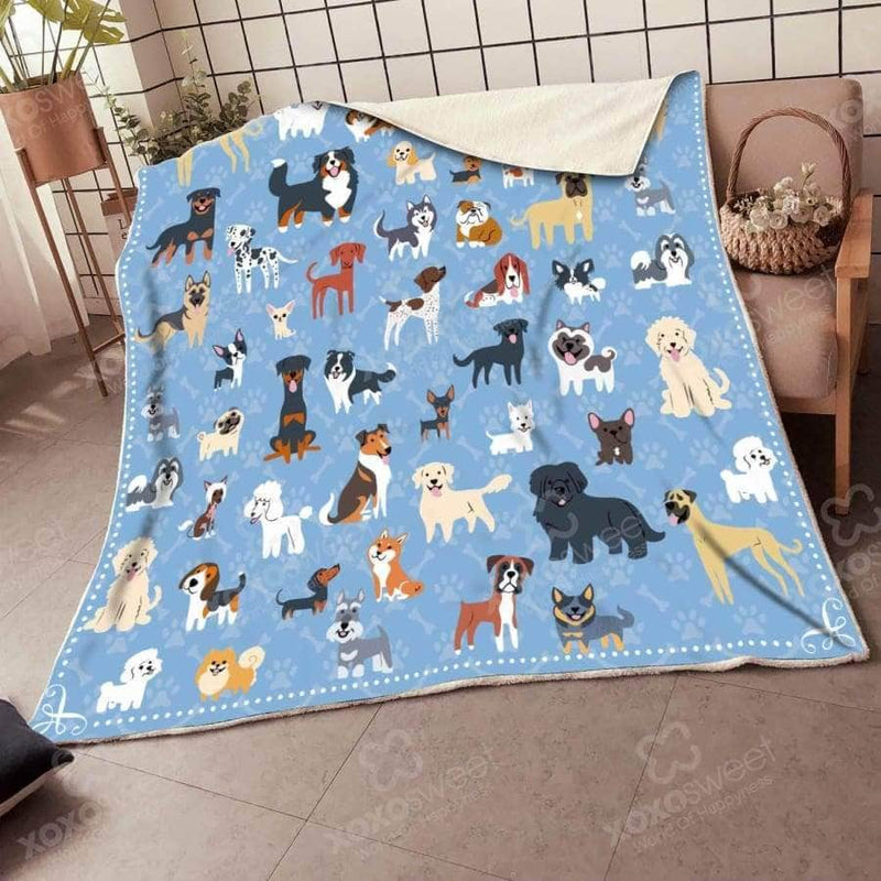 Gift for Dog Lover - Blanket