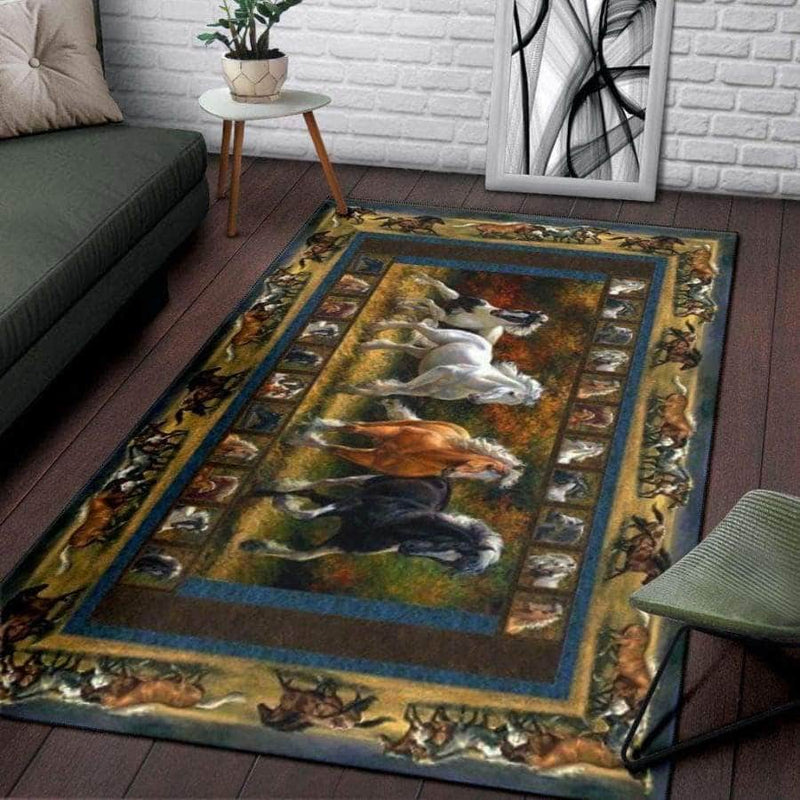Horse Beautiful Rugs