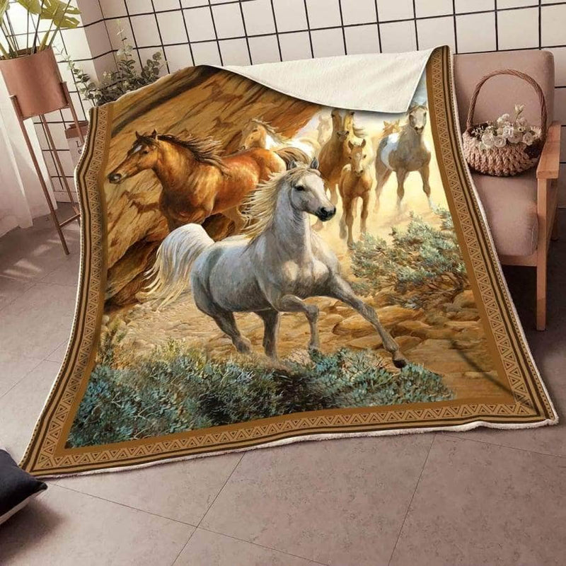 Horse Blanket Brown