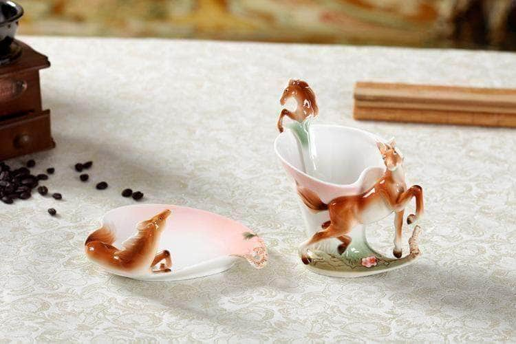 Horse Coffee Set