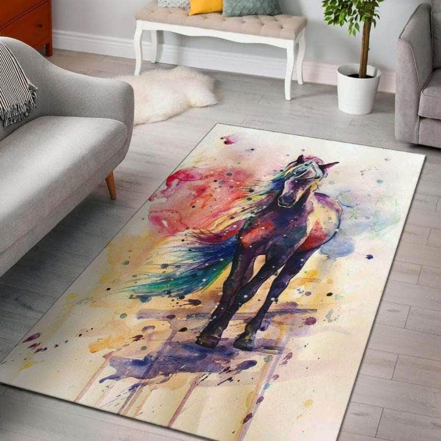 Horse Color Rugs
