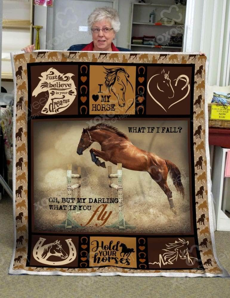 Horse Jumping Blanket