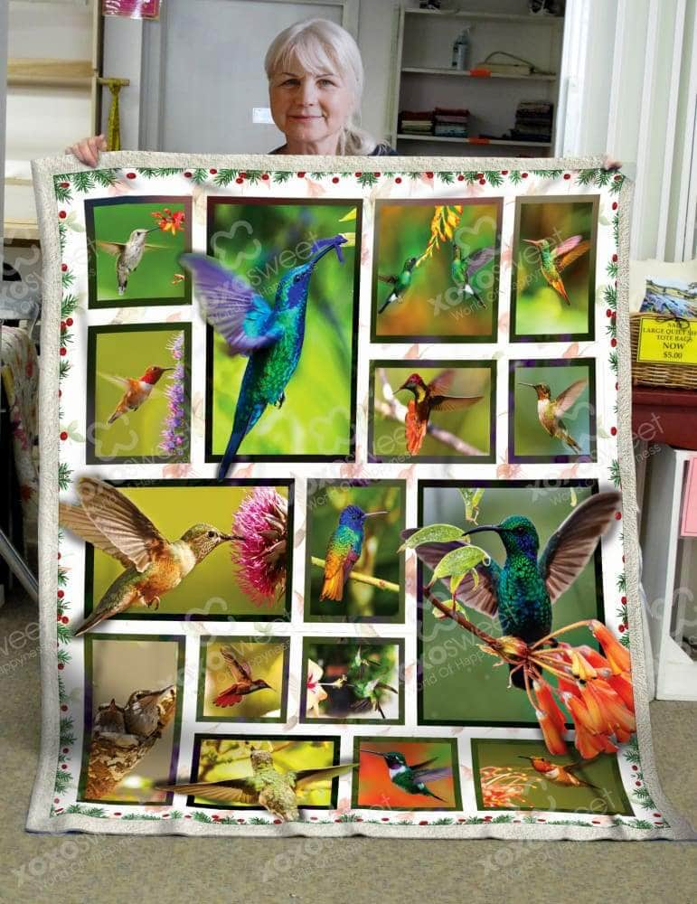 Humming Birds Blanket