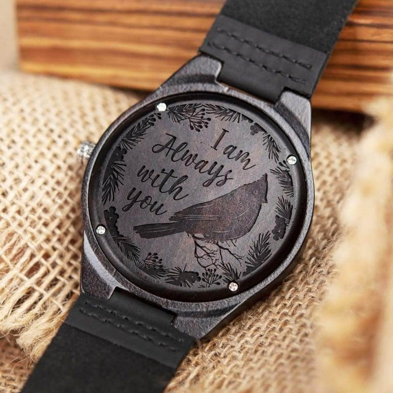 Iam Always With You - Wooden Watch