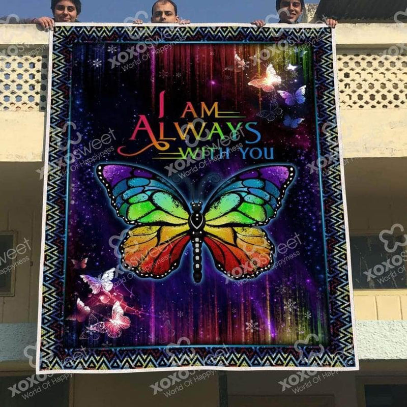 Im Always With You - Butterfly Blanket