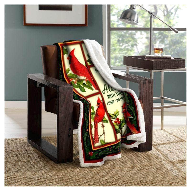 In Heaven Cardinal Blanket