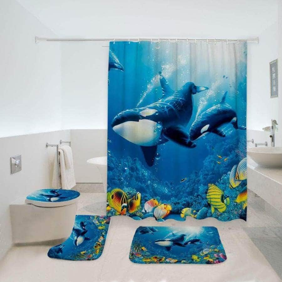 Killer Whale - Bathroom Set