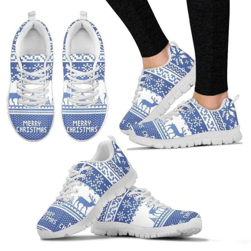 Merry Christmas - Womens Sneakers