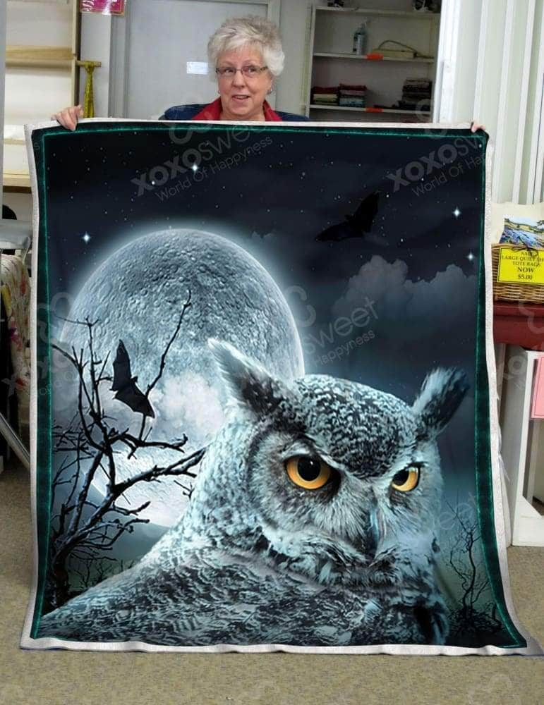 Midnight Owl Blanket