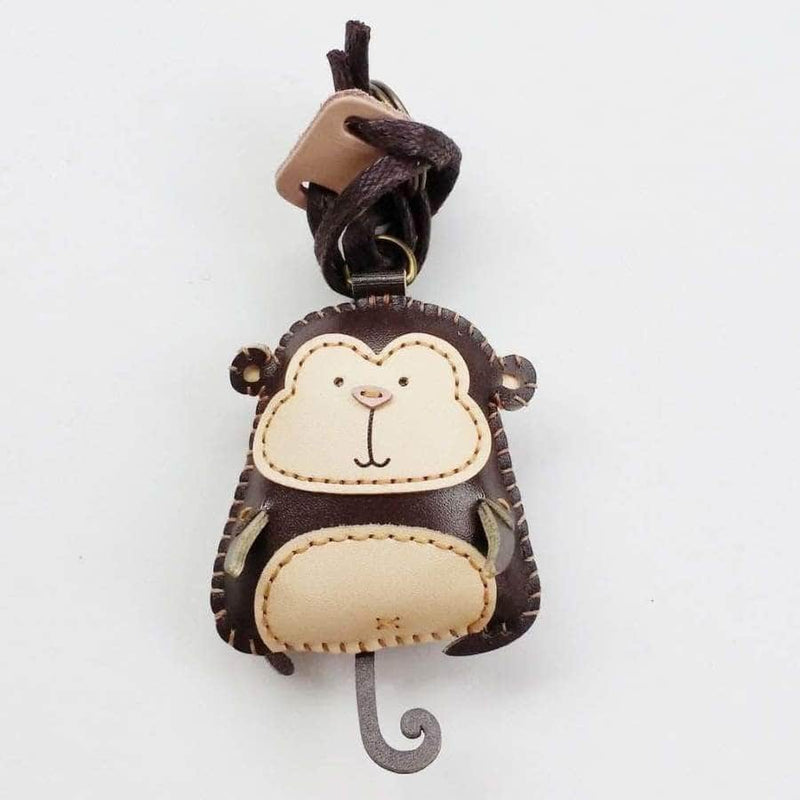 MONKEY LEATHER CHARM