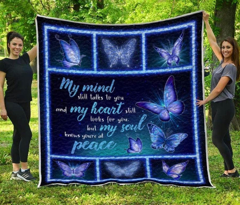 My mind still talks to you - Premium Quilt