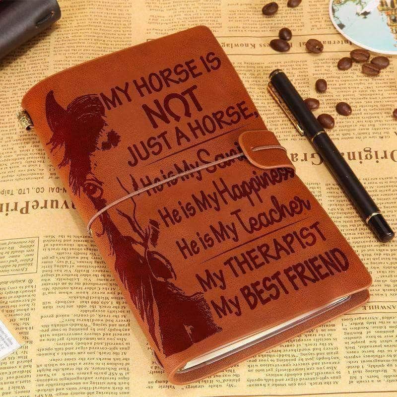 Not just a Horse - Leather Journal