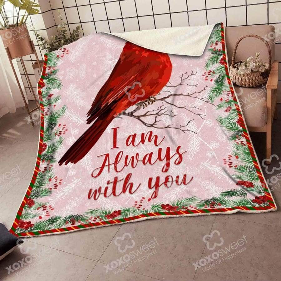 Pink Cardinal Bird - Blanket [DHL Shipping applied]