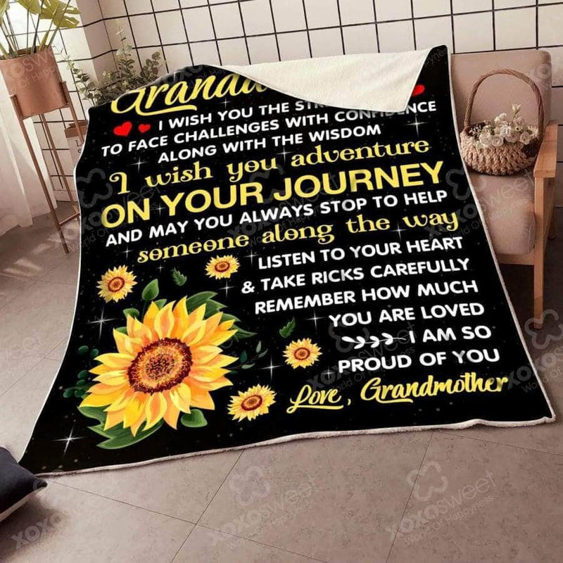 On Your Journey - Blanket