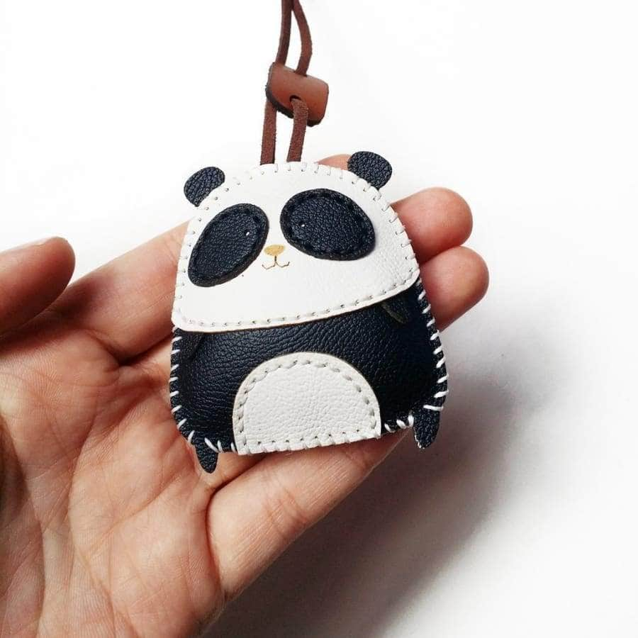 Pandie Handmade Leather Charm