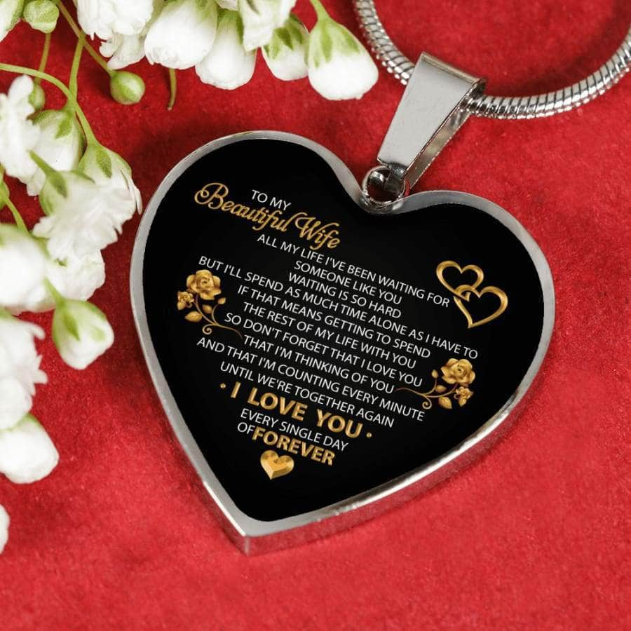 [PERSONALIZABLE] To My Beautyful Wife I Love You
