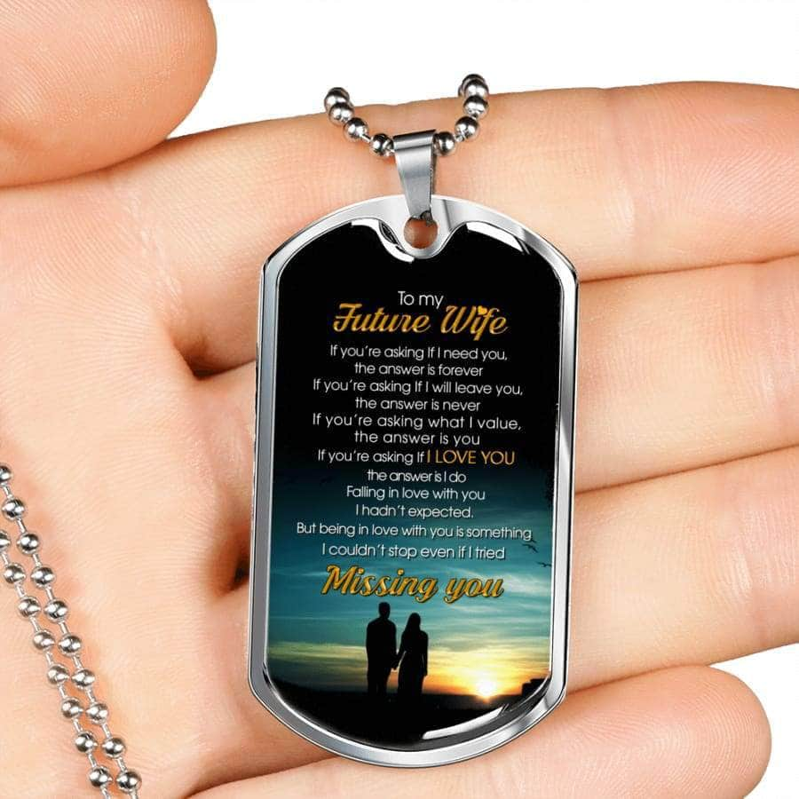 [PERSONALIZABLE]  To My Future Wife, I Love You