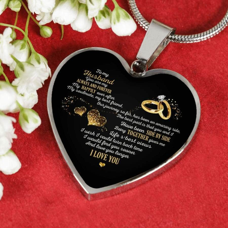 [PERSONALIZABLE] To my Husband- You are my always and forever