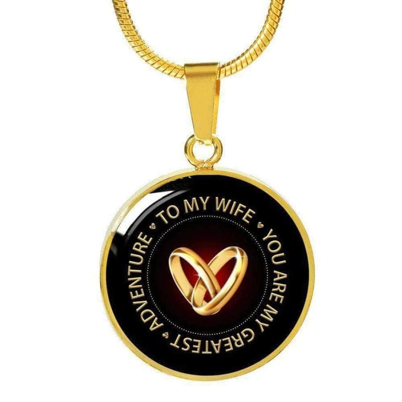 [PERSONALIZABLE] To my Wife- You are my greatest adventure