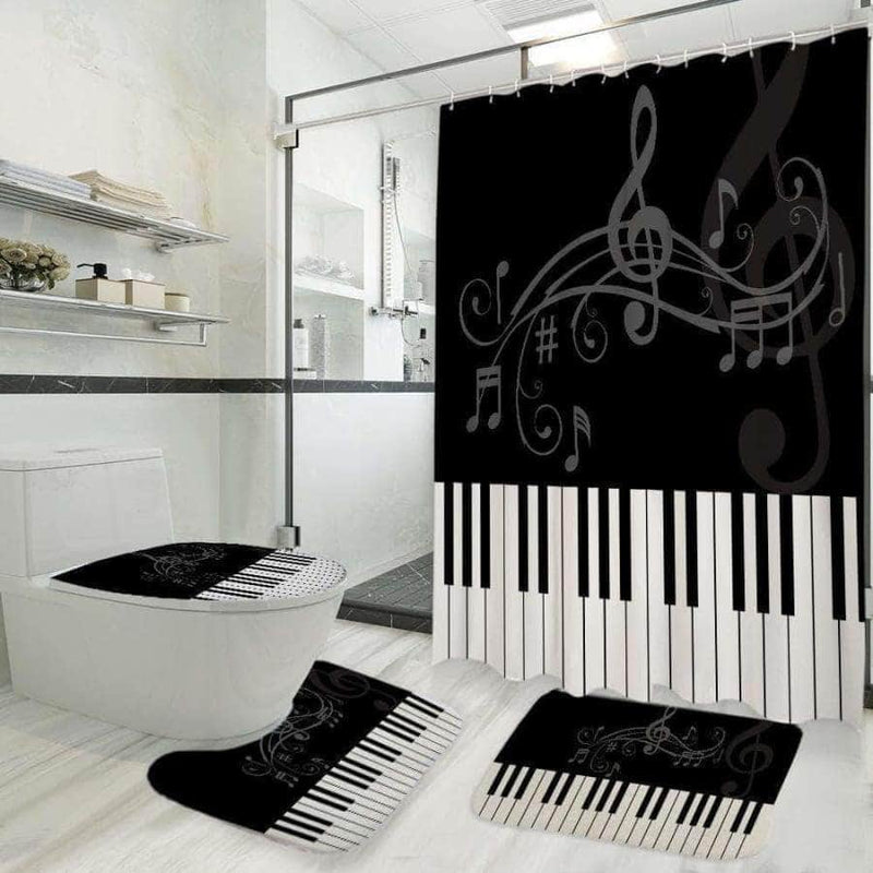 Piano Bathroom Set