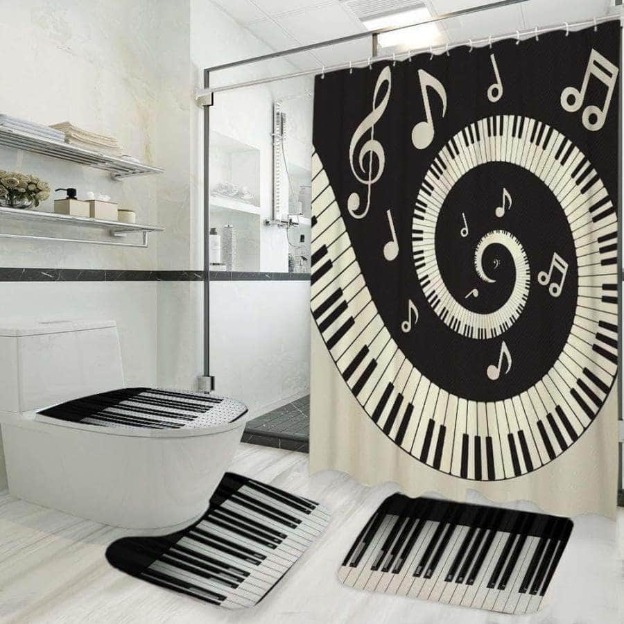 Piano - Bathroom Set