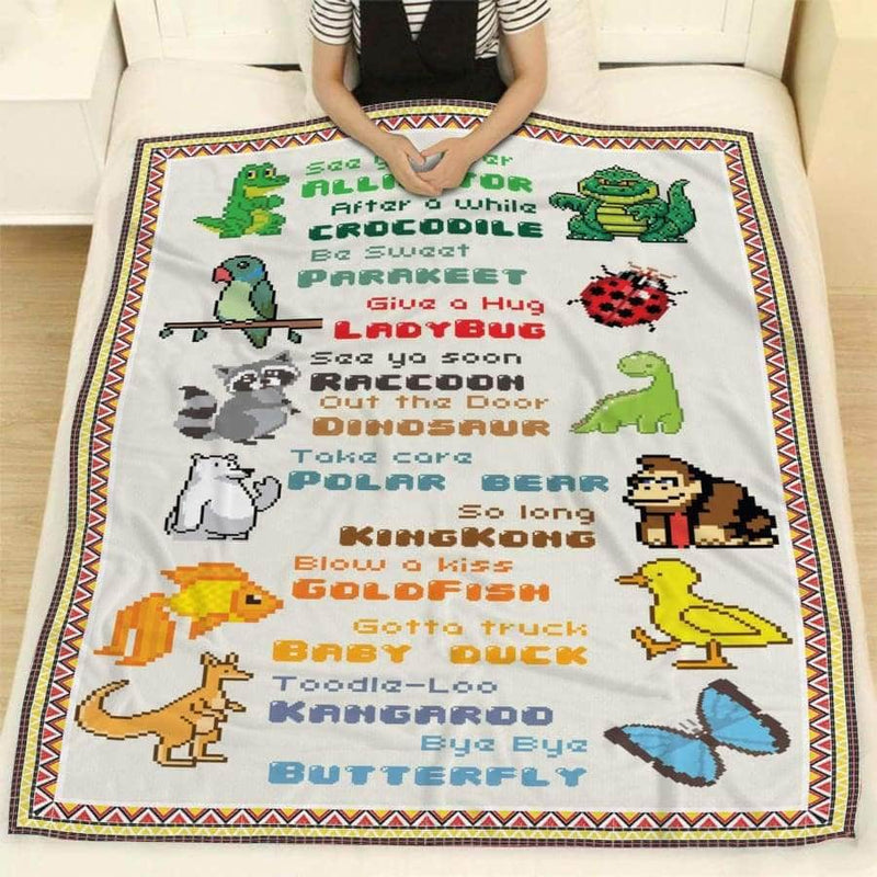 Pixal Animal Blanket