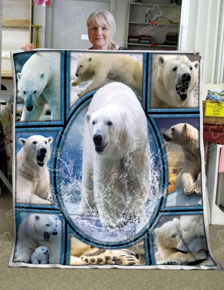 Polar Bear Blanket