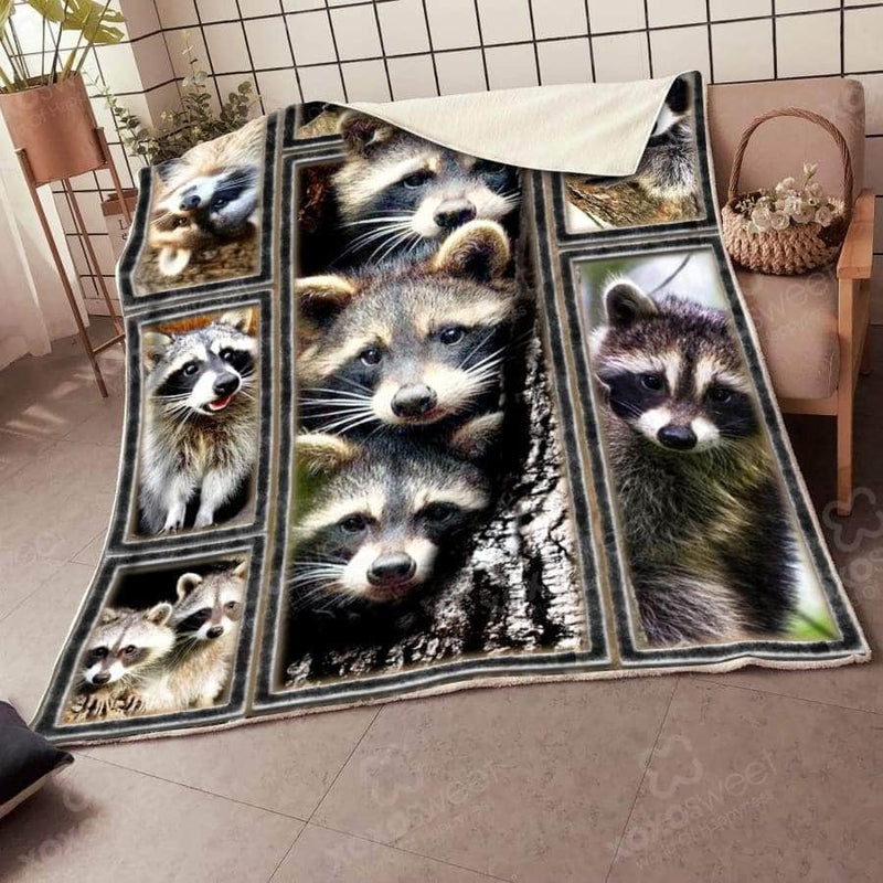 Raccoon Premium Blanket