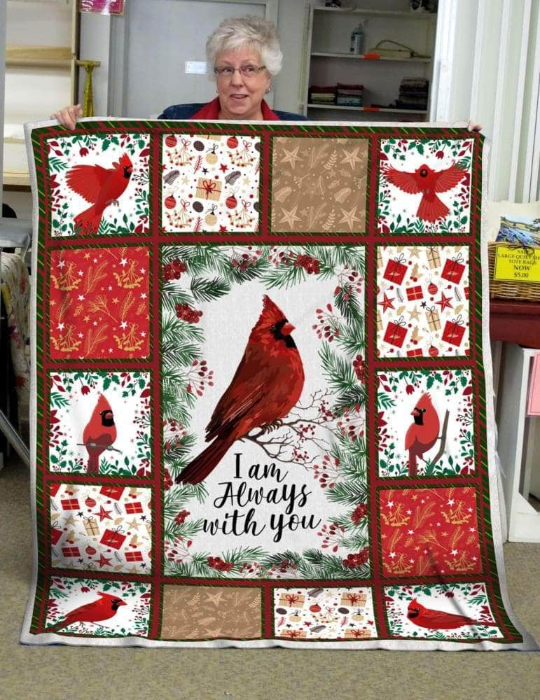 Red Bird Im always with you blanket Best Seller