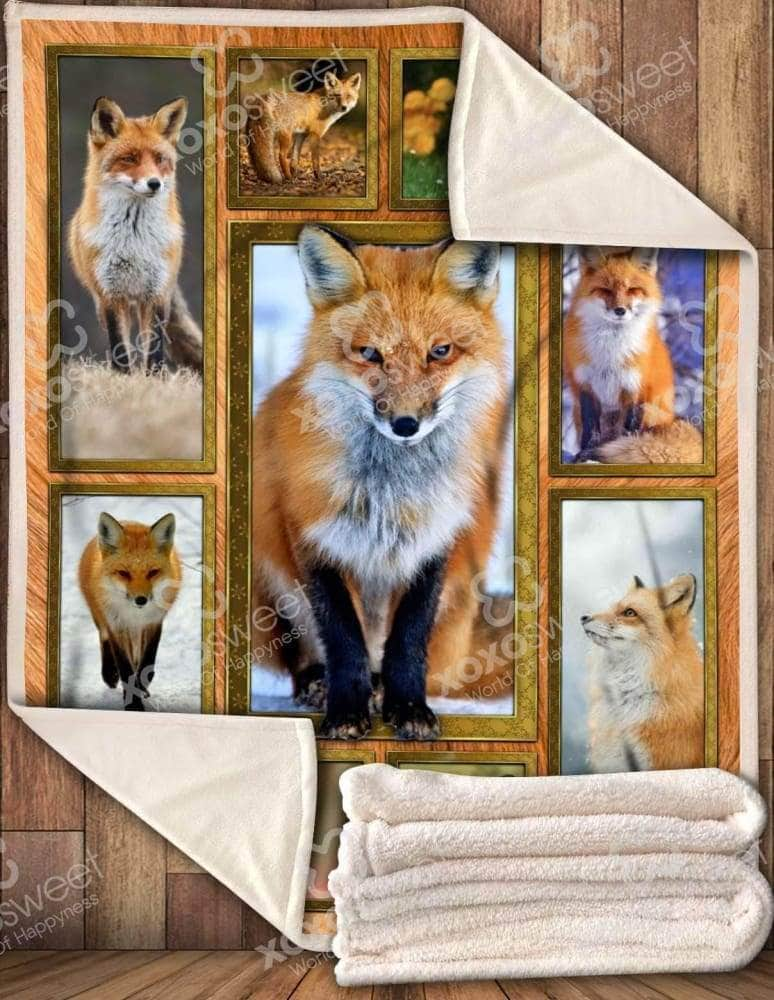Red Fox - Blanket