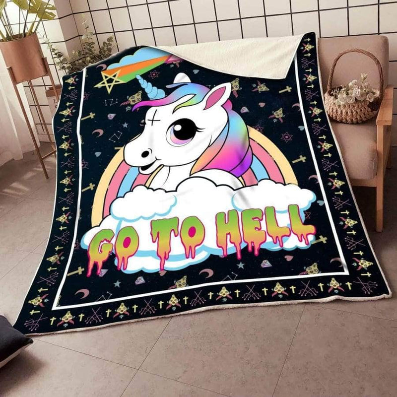 SB04 Go To Hell Blanket