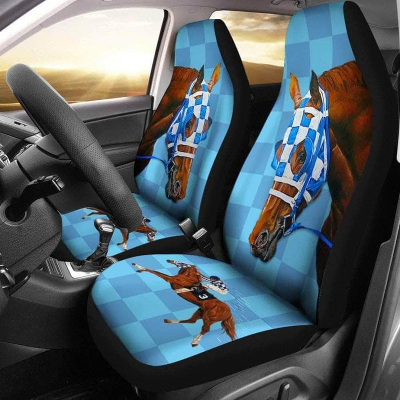 Secretariat Car Seat Cover