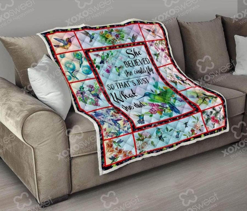 She could fly Quilt