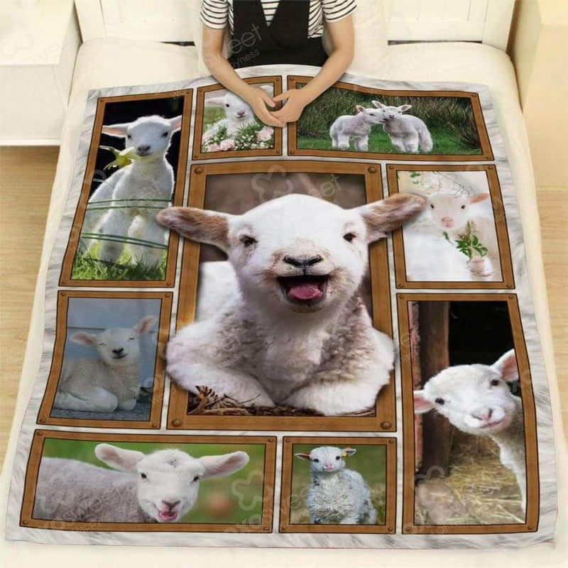 SHEEP BABY BLANKET