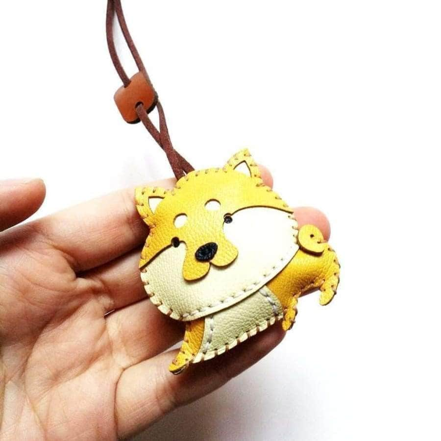 Shibie Handmade Leather Charm