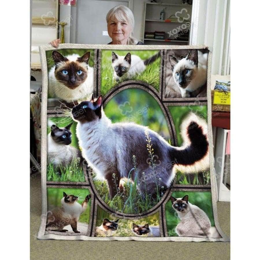 Siamese Cat Blanket