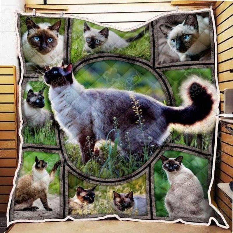 Siamese Cat Quilt