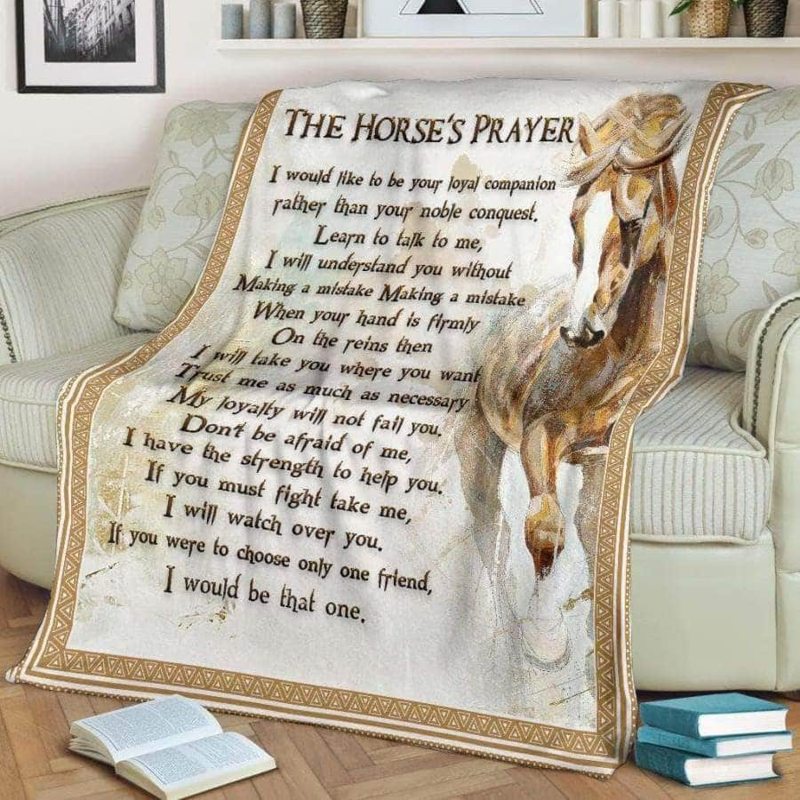 The Horse's Prayer Blanket