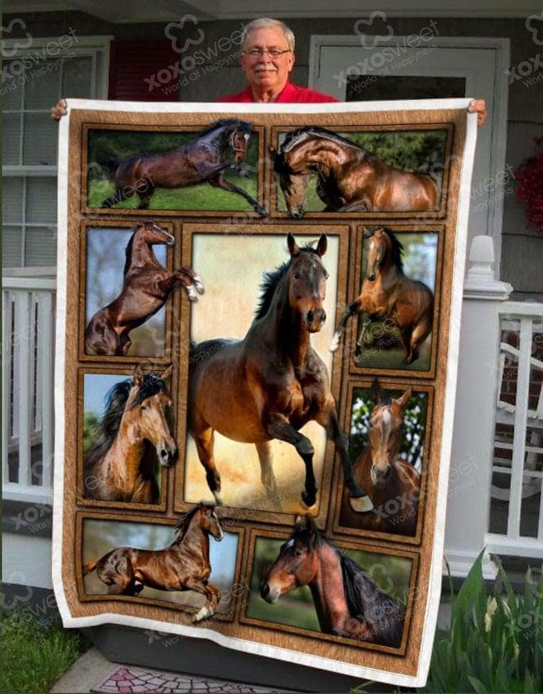 Thoroughbred Blanket