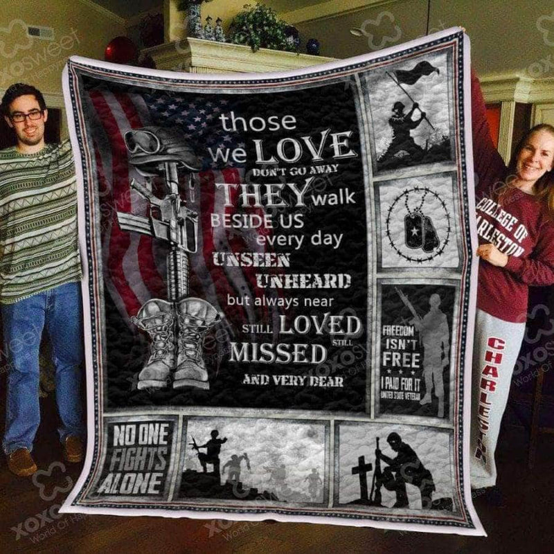 Those we love - Veteran Quilt