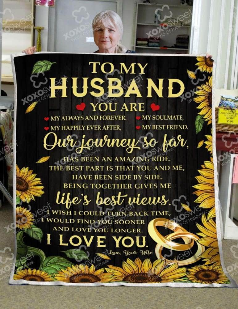 To my Husband Sunshine - Blanket