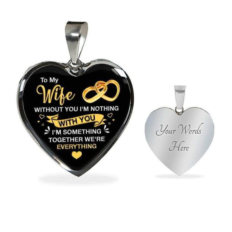 To My Wife - Heart Necklace