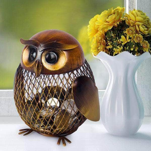 Top favorite Piggy Bank Owl Figure